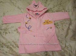 Банный халат Winnie the Pooh, 6-12 мес, рост 68-80 см