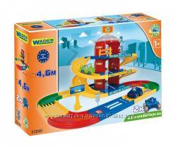 Wader Kid Cars 3D детский паркинг 3 этажа с дорогой 4, 6 м  53040