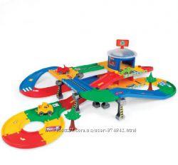 Wader Kid Cars 3D детский паркинг 2 этажа с дорогой 5, 5 м  53130