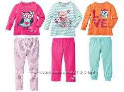 Пижама для девочки Lupilu 2-4г, Германия.