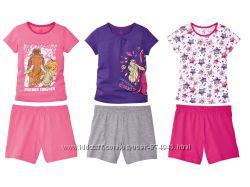 Пижама, для, девочки, lupilu, домашний, костюм, костюм, для, дома, комплект