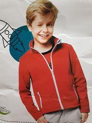 Отличная кофта куртка софтшел softshell для мальчика девочки флис