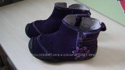 Продам замшевые ботинки Pediped 23 размера