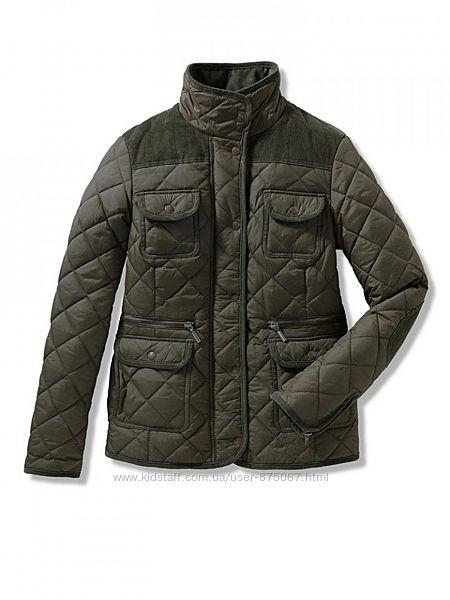 Стильная женская стеганная деми куртка от Tchibo. Размер 44 евро - наш 50