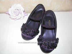 Туфельки тканевые фиолетовые фирмы MONSOON Children