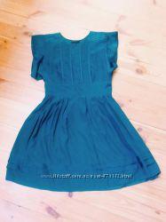 Шелковое платье warehouse летнее с-м 10