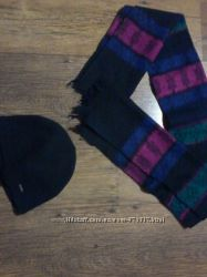 Мужская шапка, шарф