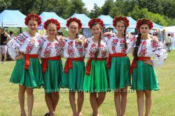 Веночки в украинском стиле