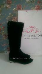 Демисезонные сапоги Paris Hilton замша 37 размер