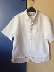 Льняная рубашка Некст р. 5-6лет