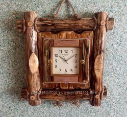 Часы из дерева, деревянные часы, часы ручной работы