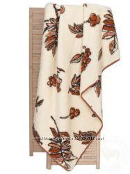 Одеяло-плед из овечьей шерсти