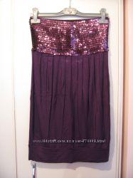 Красива фіолетова туніка фірми AMISU , розмір 36-38
