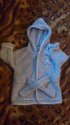 Наш первый мягусенький, теплюсенький халат до года