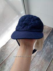 Демисезонная шапочка-кепка 12-24мес