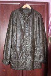 Классная кожаная курточка. Новая