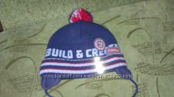 Продам модную зимнюю шапочку на мальчика 1-2 года