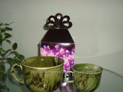 подарочный набор чашки