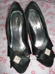 Туфли с открытым носком р. 36-37