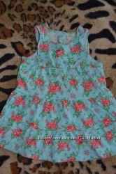 Сарафан, платье H&M на 2-3 годика