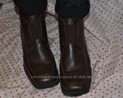 Фирменные кожаные ботинки Bhs р. 37- 37, 5