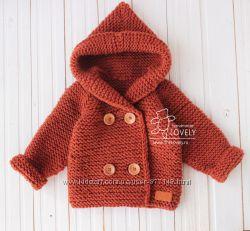 Вязаный детский свитер ручной работы под заказ