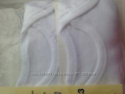 Белые бодики  с коротким рукавом f&f 12-18