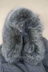 Пуховик с меховым воротником песец Decently XL 52 Доп фото