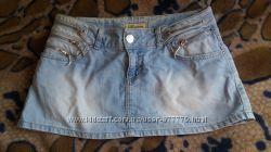 Джинсовая юбка, размер 29