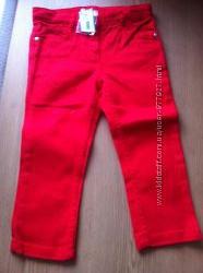 Джинсы, шорты, футболки для девочки на 3 и 4 года 100см - Chicco, Jacadi