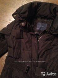 Пуховик-пальтишко Zara демисезон, тёплая зима