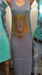 Длинные платья в пол, стильные, Дресс Код, оригинал, шифон Турция.