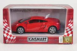 Модель автомобиля Kinsmart Lamborghini Gallardo красный 132 KT5098W-4
