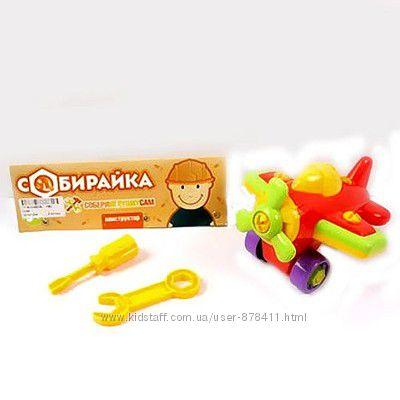 Конструктор Собирайка - Самолетик