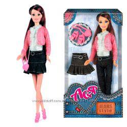 Кукла Джинсовый стиль с аксессуарами Ася 35062