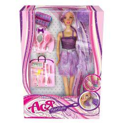 Кукла Модные прически с аксессуарами Ася Розовая 35063