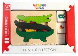 Серия пазлов George Luck Крокодилы Hape E6508