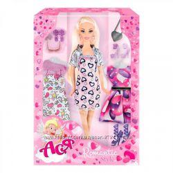 Романтическая кукла Ася с 3 нарядами Ася 35094