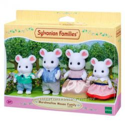 Sylvanian Families Семья белоснежных мышей 5308