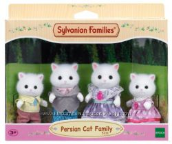 Семья Персидских Кошек Sylvanian Families 5216