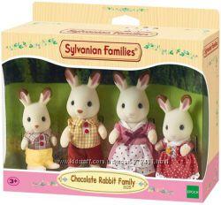 Семья шоколадных Кроликов Sylvanian Families 4150