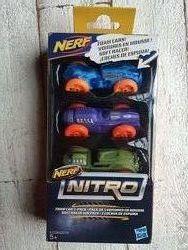Набор машинок для бластера Hasbro Nerf Nitro C0774 E1236