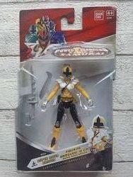 Bandai Power Rangers Samurai Желтый рейнджер 10 см 31711
