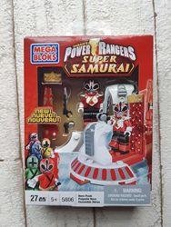Конструктор Mega Bloks Power Rangers Samurai Красный Рейнджер 5806