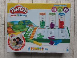 Игровой набор пластилина Hasbro Play-Doh Лепи и измеряй B9016