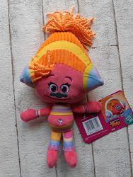 Мягкая игрушка Hasbro Trolls Плюшевая DJ Suki 30 см B6566 B7617