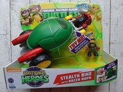 Боевой транспорт TMNT Мотоцикл Стелс и эксклюзивная фигурка Рафаэля 96754