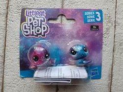 Hasbro Littlest Pet Shop 2 космических пета дикие водные E2128 E2580