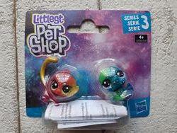 Hasbro Littlest Pet Shop 2 космических пета дикие животные E2128 E2578