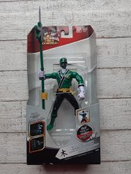 Фигурка с мечом Bandai Power Rangers Зеленый рейнджер 16 см 31923